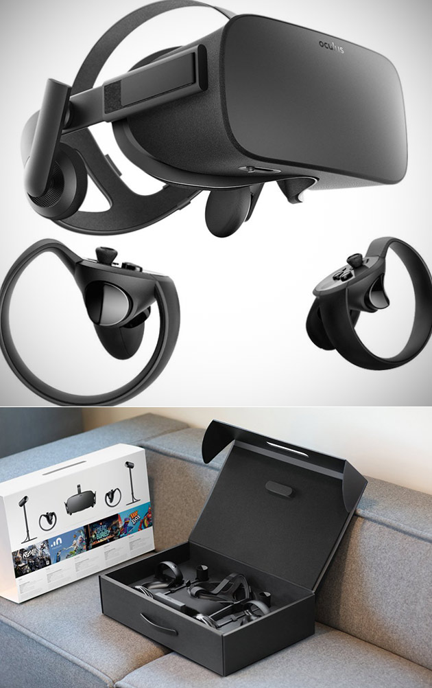 Oculus Rift Touch Virtual Reality