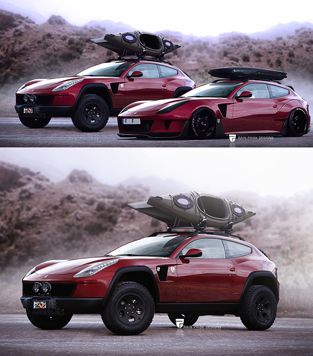 Off Road Ferrari Ff Suv And 10 More Awesome Supercar Concepts Techeblog