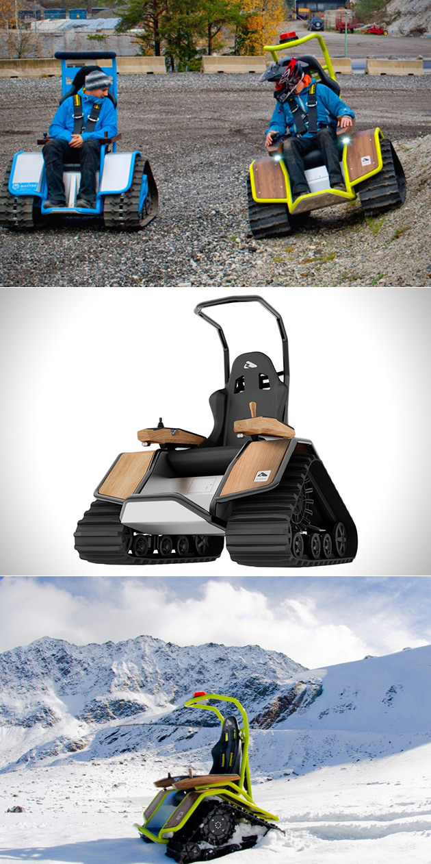 Off-Road Tank Chair