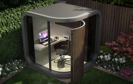 OfficePod is Great as Private Outdoor Office - TechEBlog