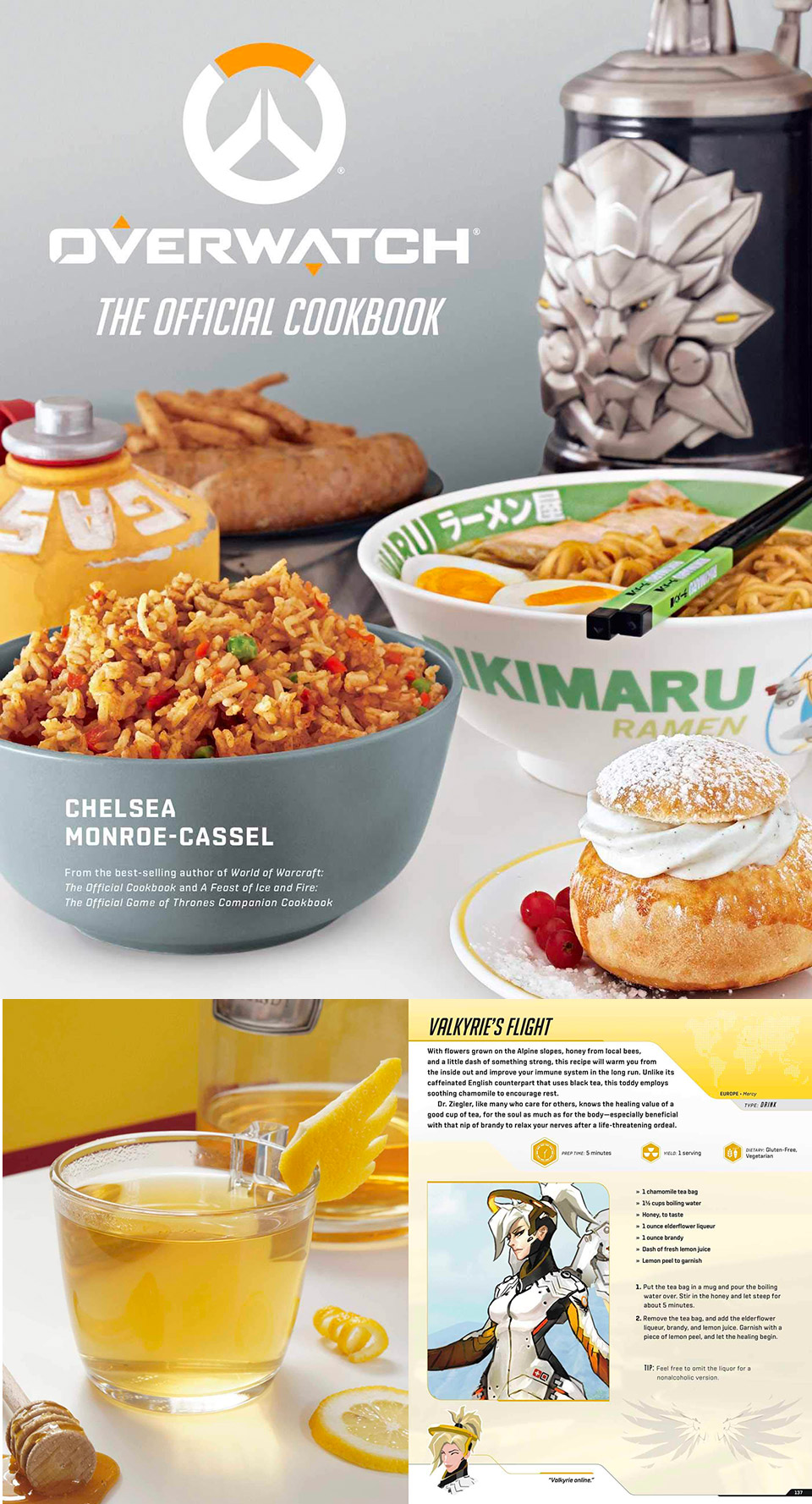 Overwatch Official Cookbook