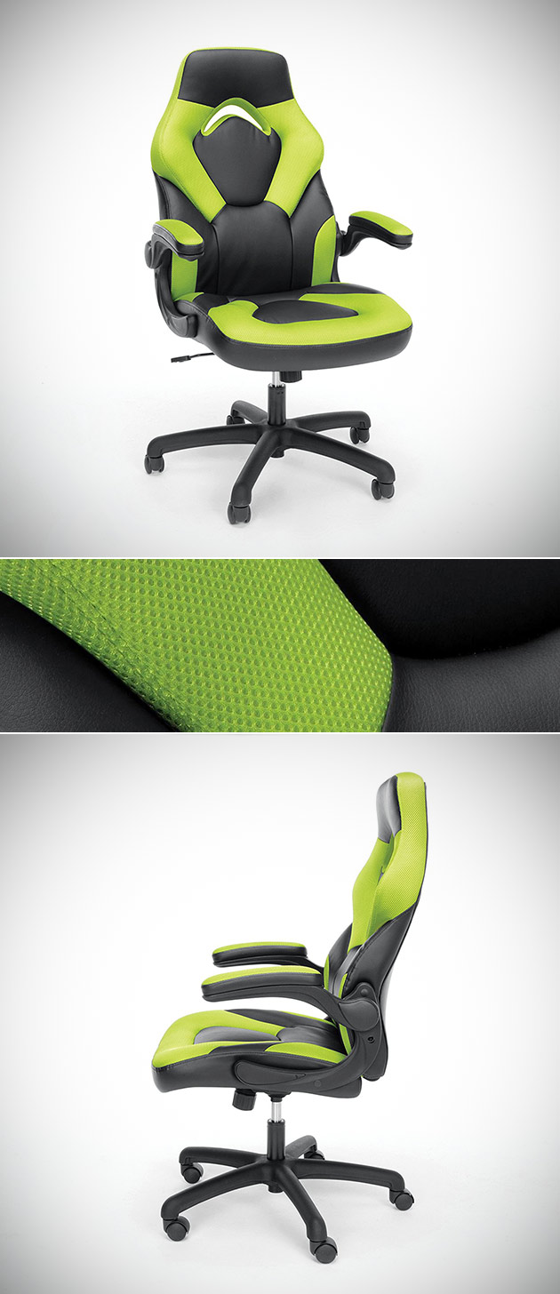 Ofm Essentials Racing Style Gaming Chair Is Great For Work Or Play Get One For 65 59 Shipped Today Only Techeblog