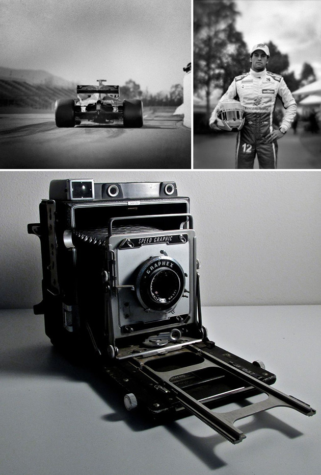 Photographer Shoots F1 Races with 104-Year-Old Camera, These Amazing Photos Ensue