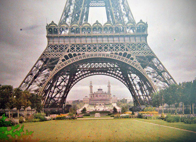 Old Eiffel Tower