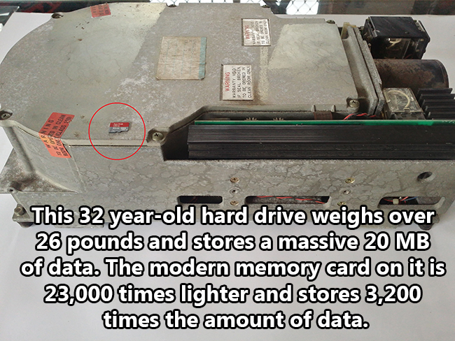 Oldest Hard Drive