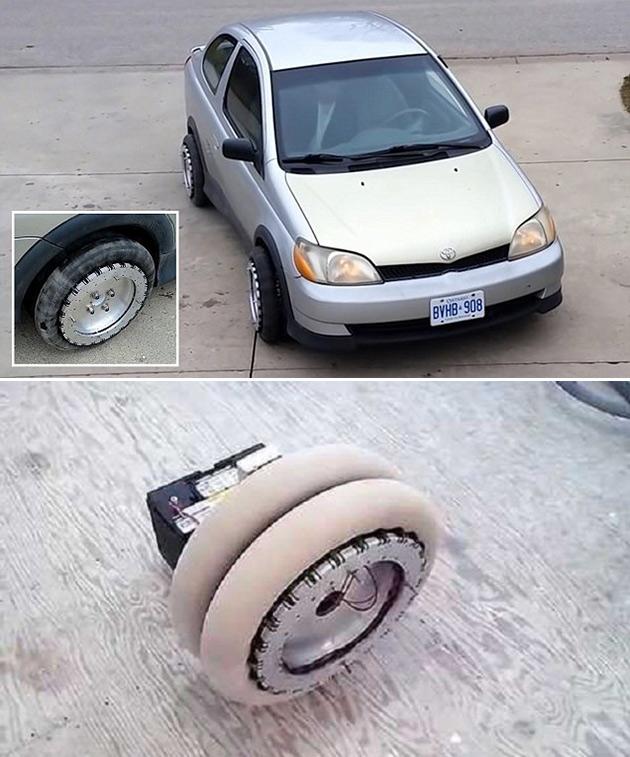 Omni-Directional Car Wheels