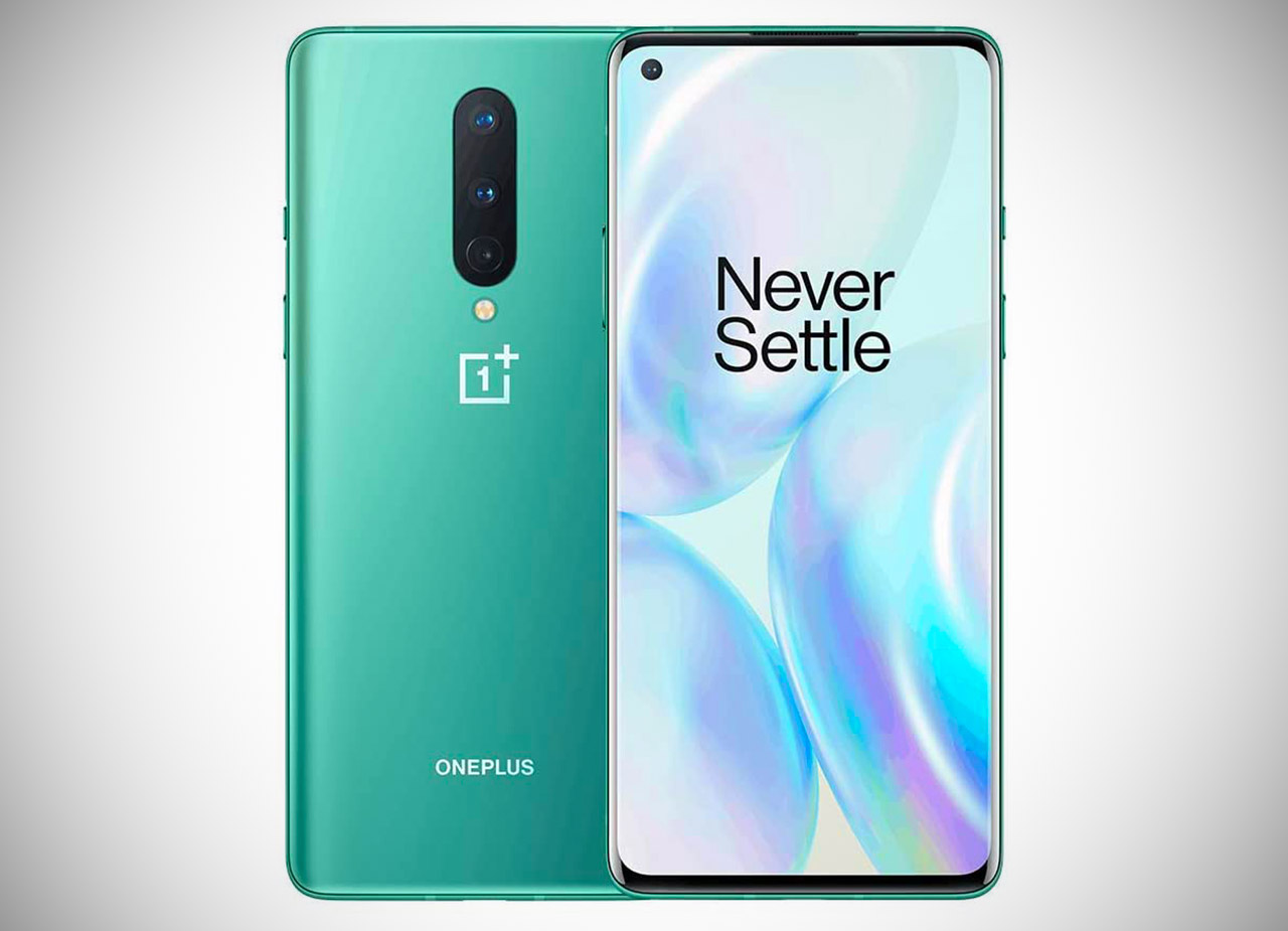 OnePlus 8 5G Smartphone Glacial Green