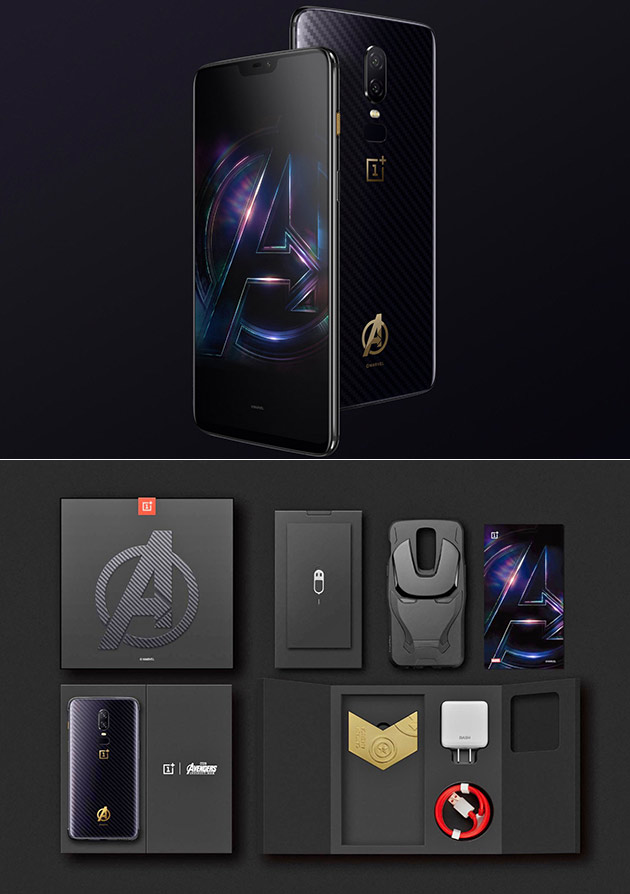 f8066fa93cd OnePlus 6 Avengers Edition Smartphone is Real
