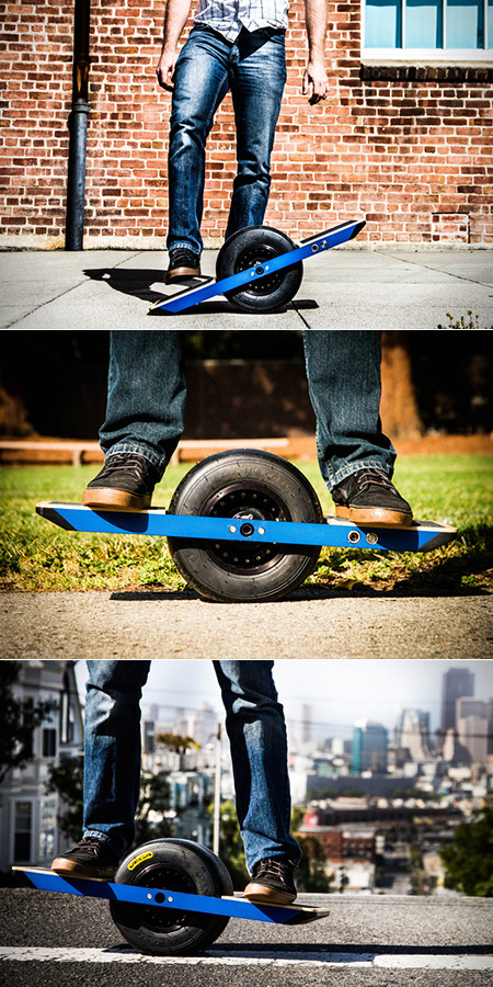 company unveils onewheel a self balancing electric skateboard techeblog. Black Bedroom Furniture Sets. Home Design Ideas