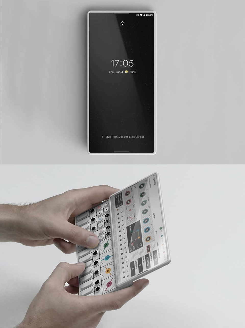 OP-S Concept Smartphone Synthesizer