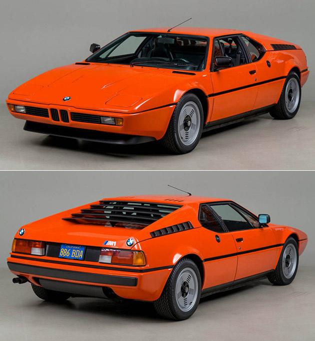 Orange BMW M1