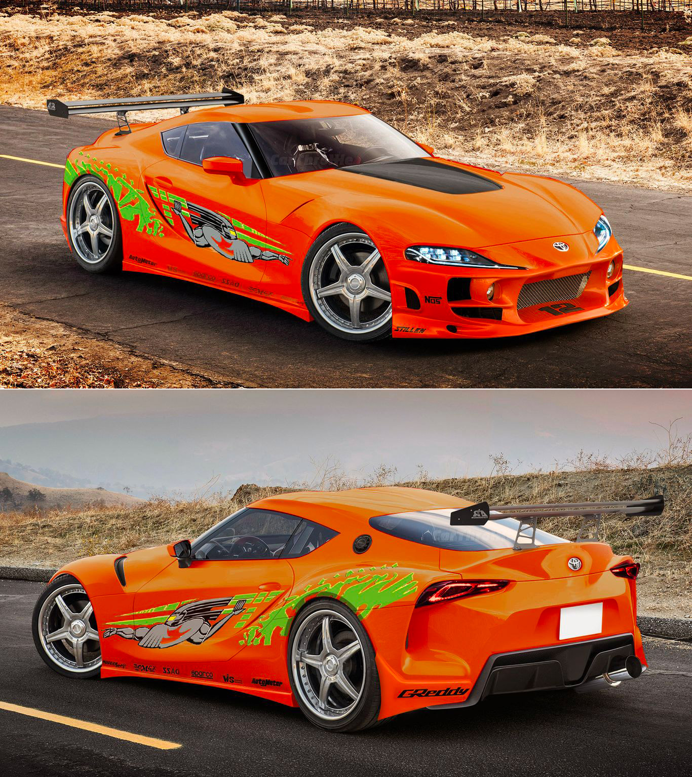 Toyota Supra Fast Furious 9