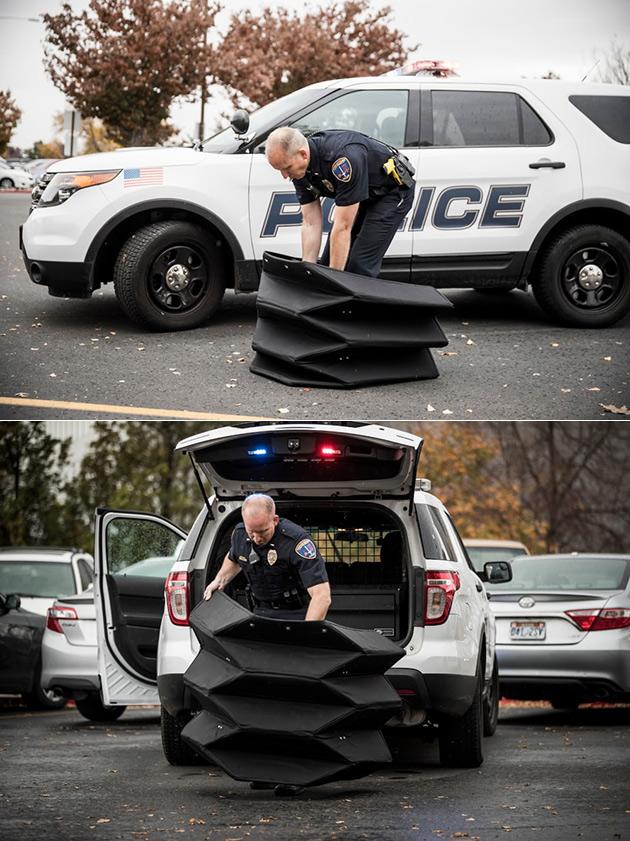 Origami Bulletproof Shield