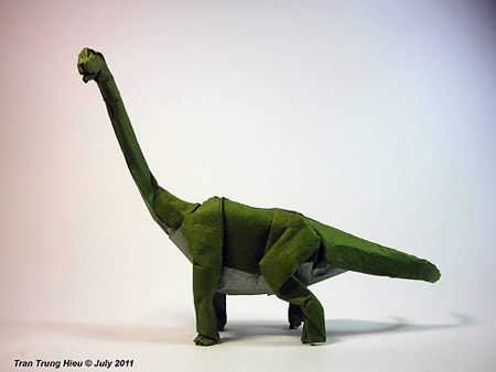 Awesome Origami Dinosaurs