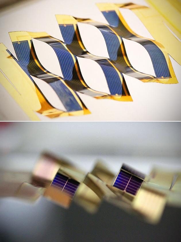 Origami Solar Panels