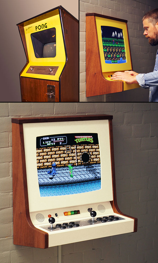 Origin X Wall-Mounted Arcade