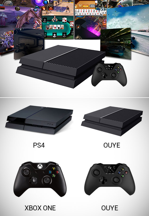 OUYE PS4 Xbox One Knockoff