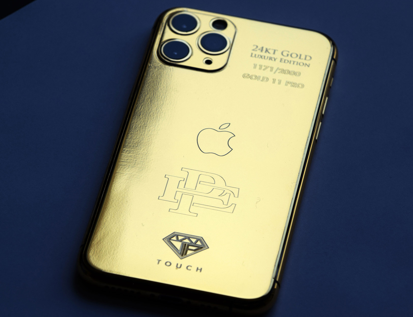 Pablo Escobar Gold 11 PRO iPhone