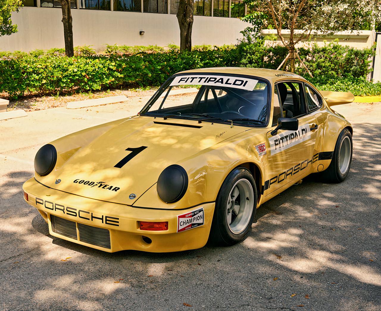 Pablo Escobar Porsche 911 Carrera 3 RSR Auction