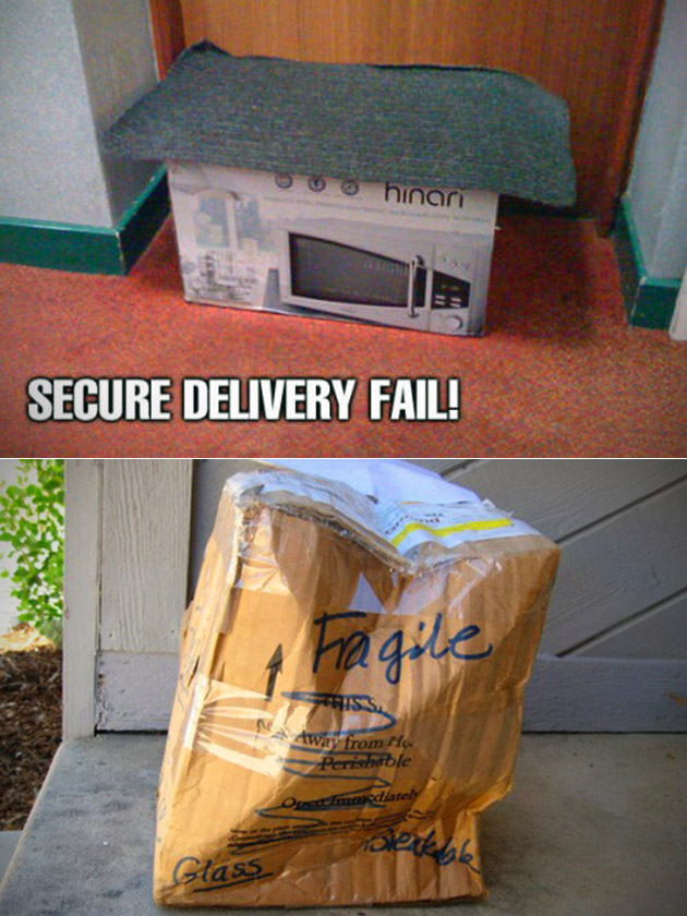 Package Delivery Fail