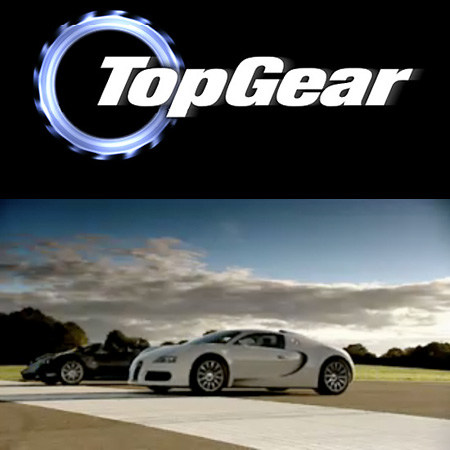 top gear pagani zonda f roadster vs bugatti veyron techeblog. Black Bedroom Furniture Sets. Home Design Ideas