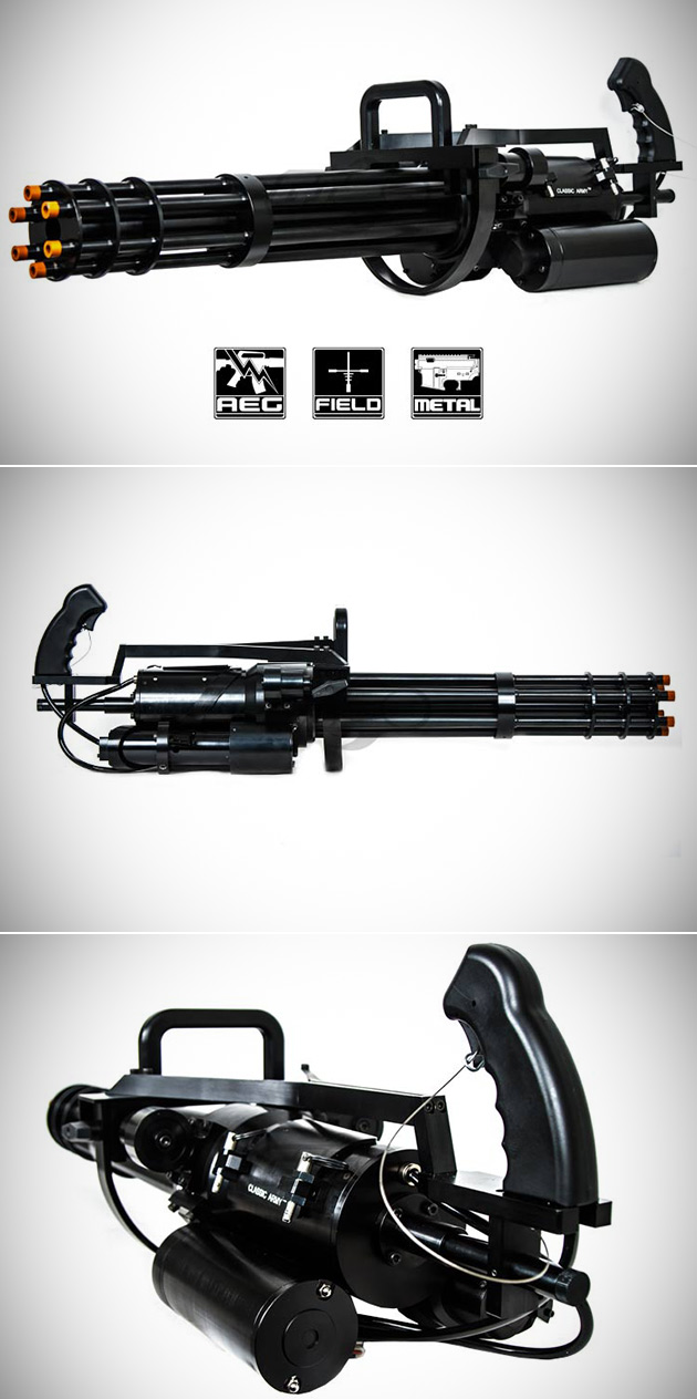 Paintball Airsoft Gatling Gun