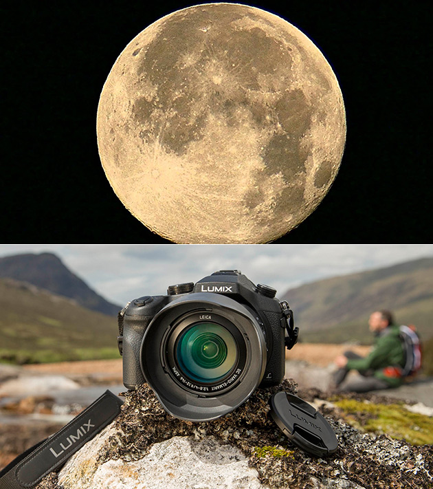 Panasonic Moon Zoom