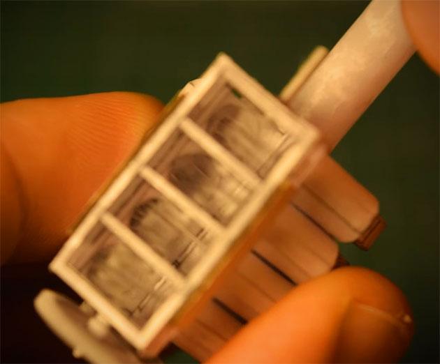 Paper V8 Engine