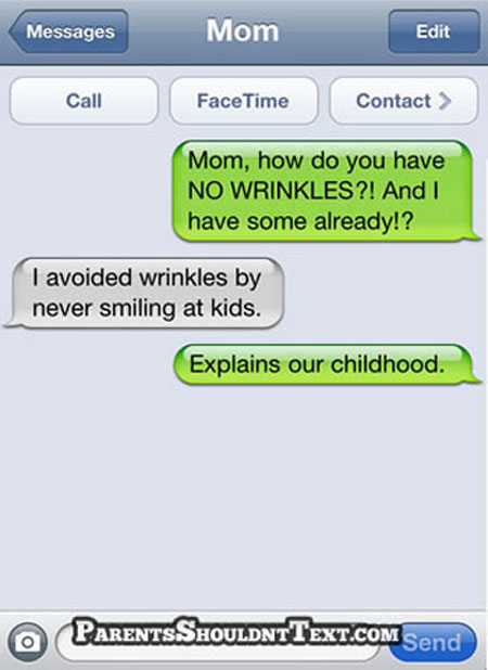 10 Funny and Awkward Text Funny Text Messages From Parents