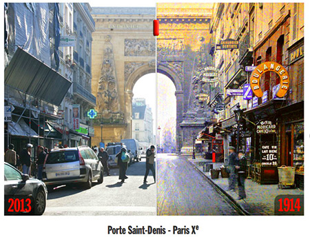 10 Photos incroyable alors vs maintenant montrent comment Paris a changé depuis le début des années 1900