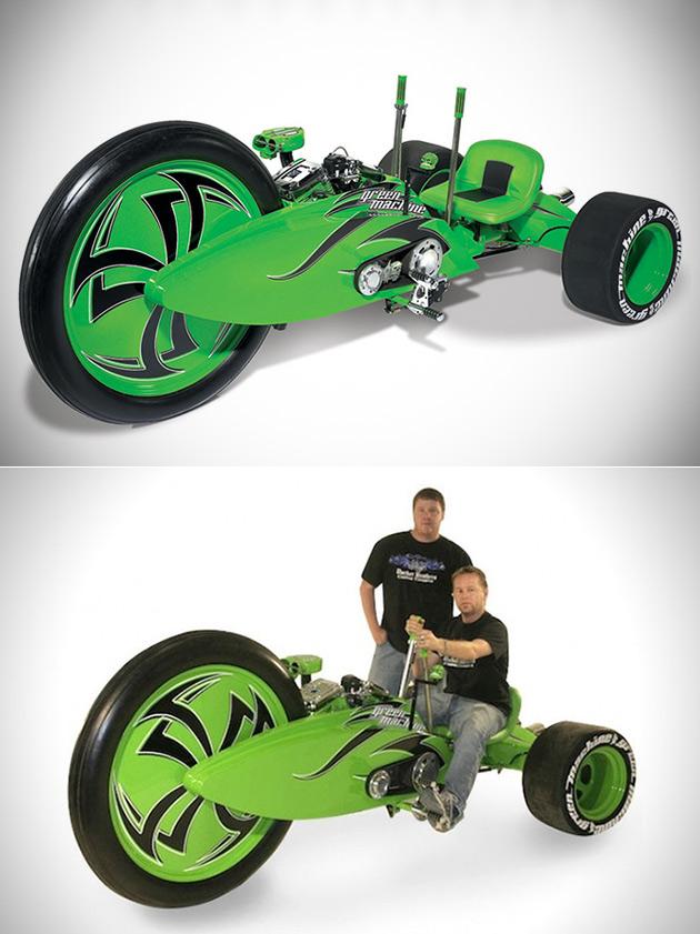 Green Machine Big Wheel