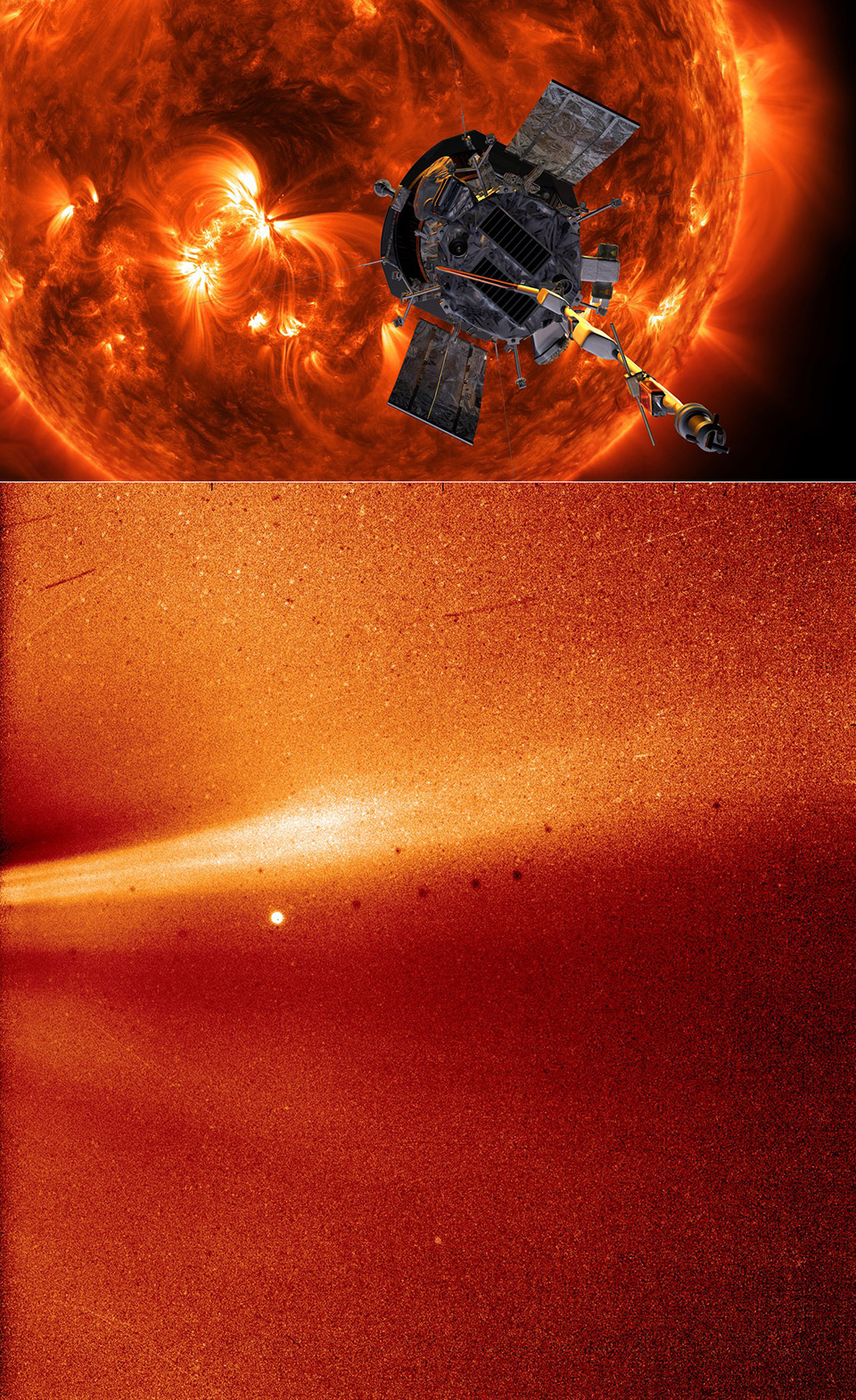 NASA Parker Solar Probe Sun Close-Up Corona