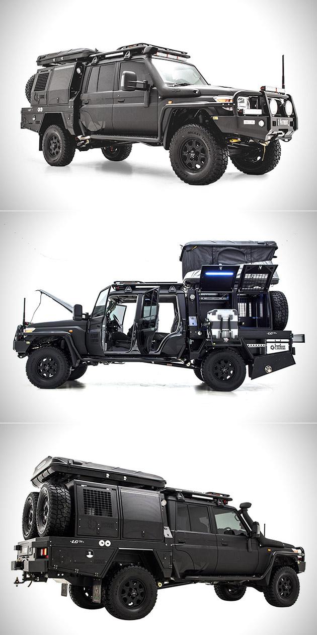 Patriot Campers LC79 Supertourer Black