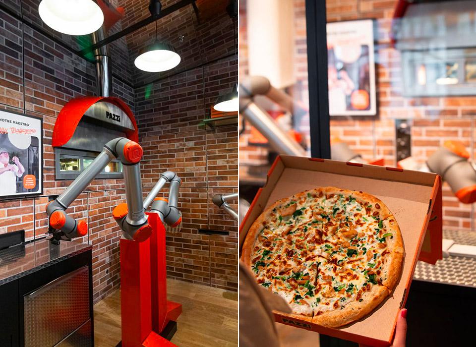 Pazzi Autonomous Pizza Robot