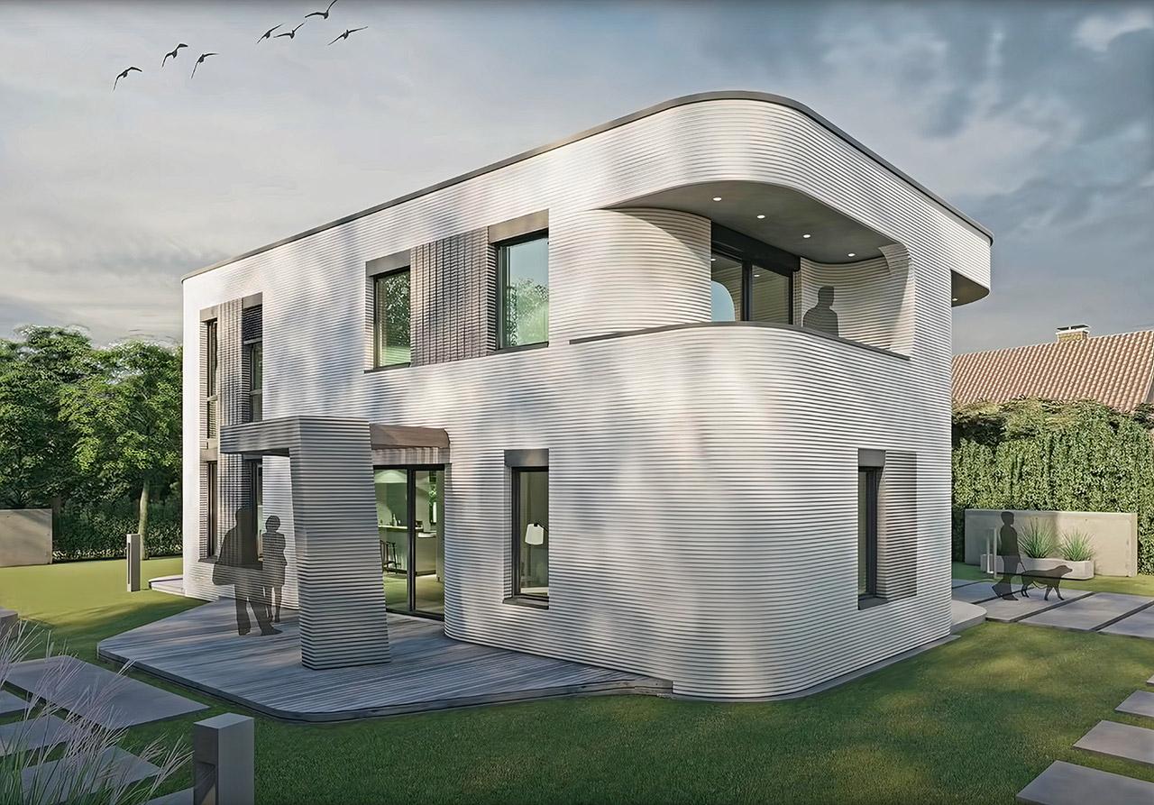 PERI 3D-Printed Home