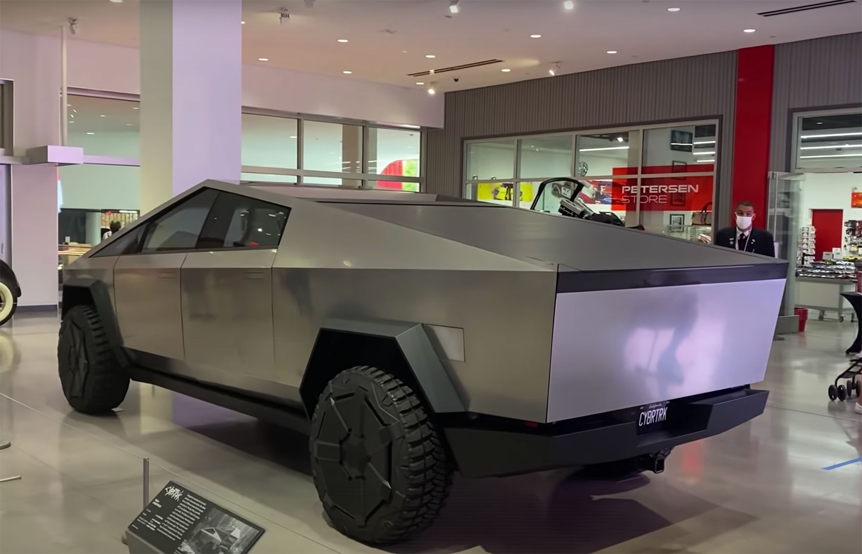 Petersen Automotive Museum Tesla Cybertruck