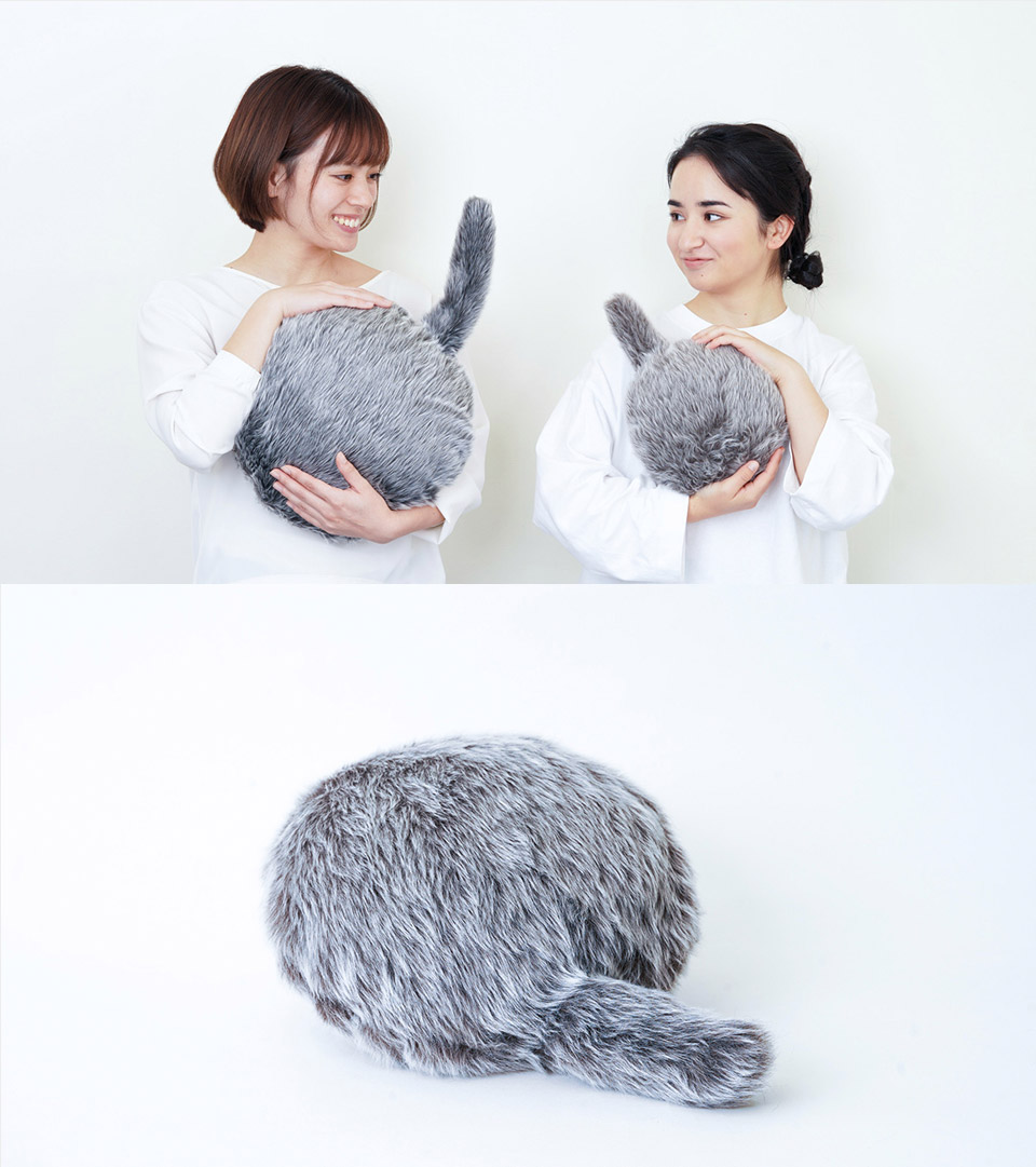 Petit Qoobo Headless Cat Robot