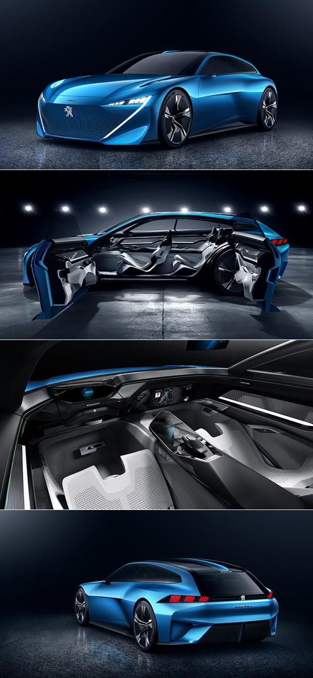 Peugeot Instinct Peut Conduire lui-Même, possède Holographique Heads-Up Display et i-Device