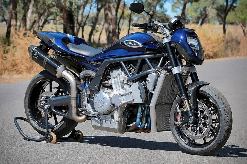 PGM V8 Motorycle