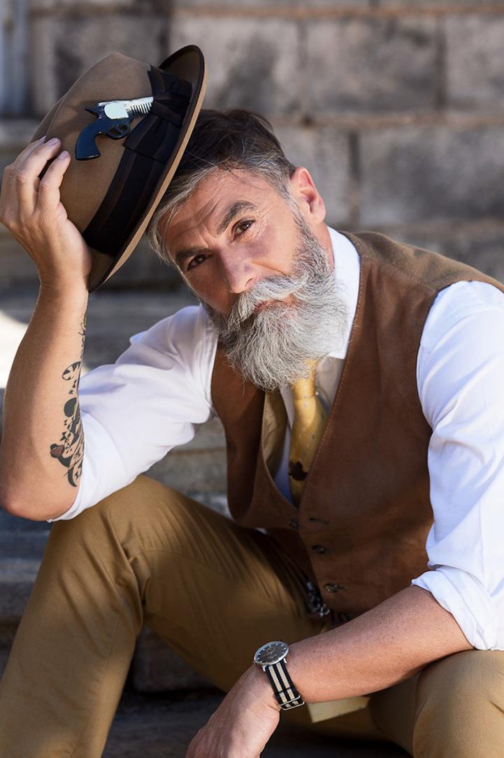 Phillippe Dumas 60-Year-Old Model