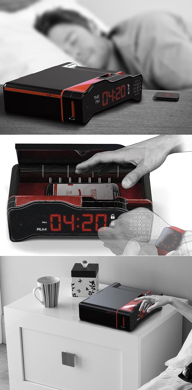 Phone Cell Alarm Clock