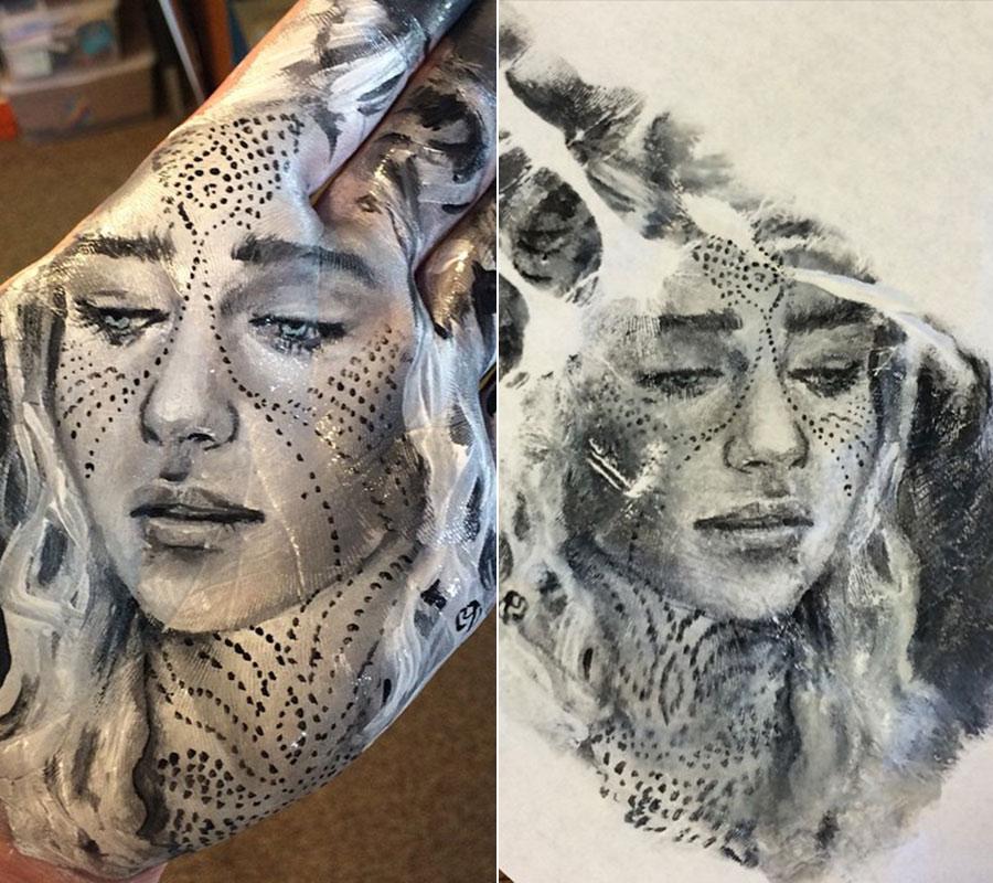Photo-Realistic Hand Portraits