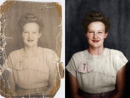 Virale décomposée vidéo montre exactement comment vieilles Photos sont restaurés