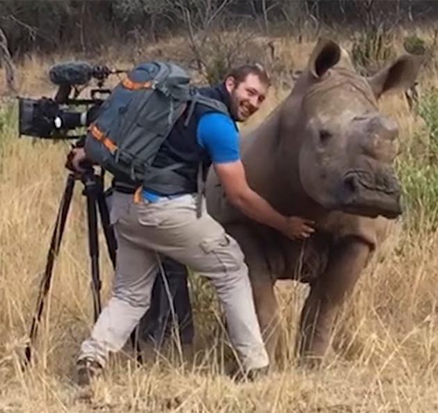 Photographer Rhino