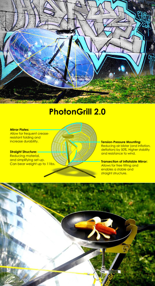PhotonGrill Solar Grill