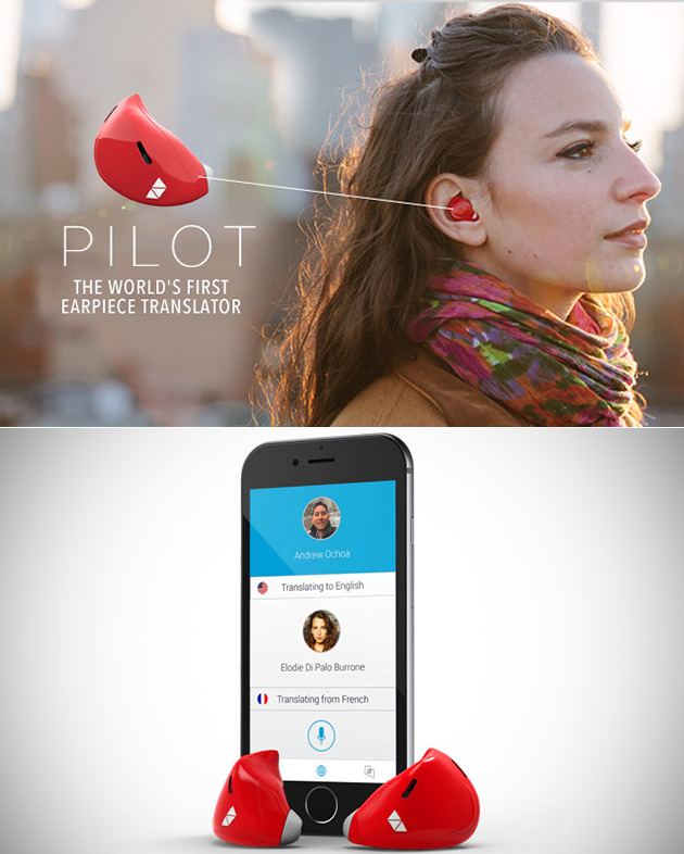 Pilot Smart Earpiece Translator