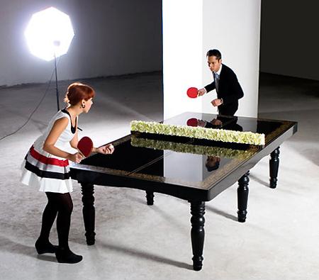 Weird Ping Pong Dining Table Techeblog