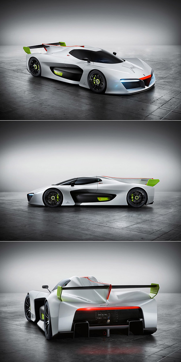 Pininfarina H2 Speed Hydrogen Supercar