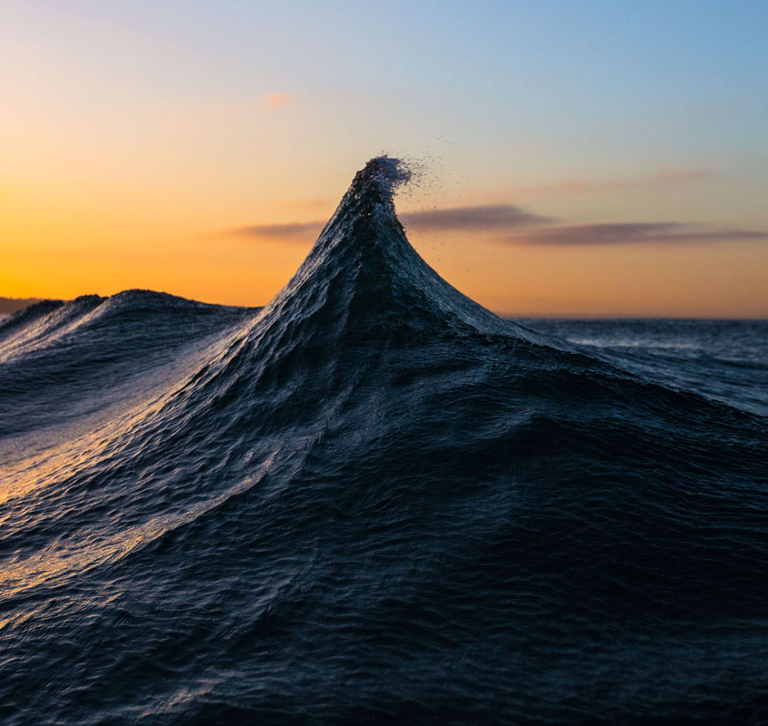Pinnacle of Existence Frozen Wave