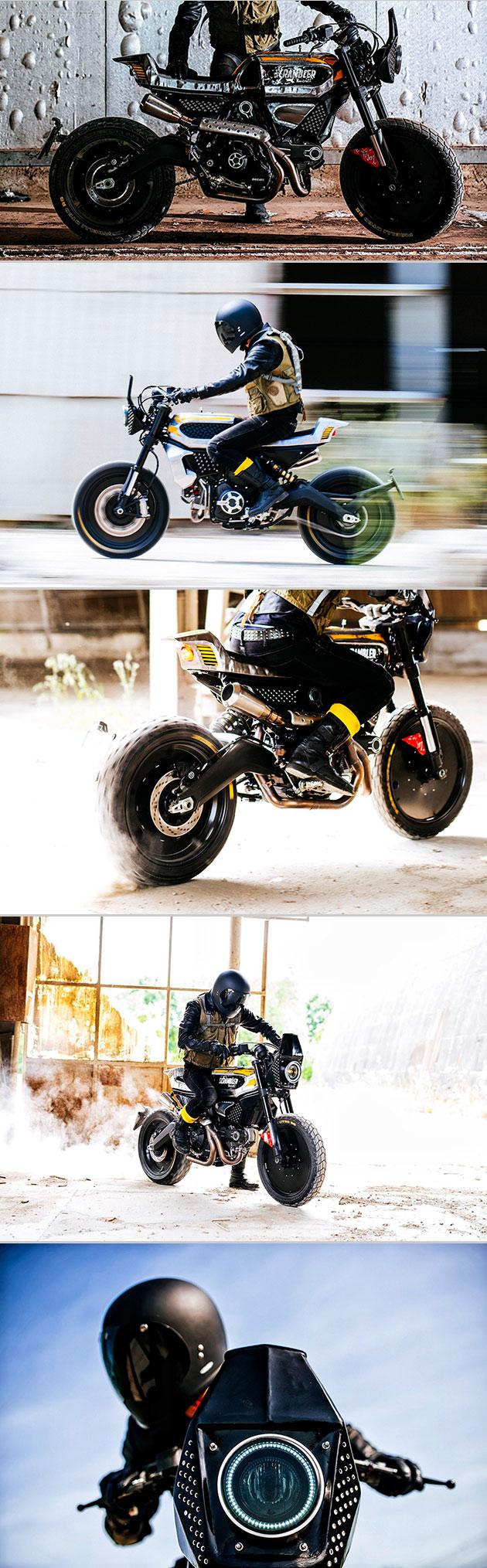 Pirelli Ducati SC-Rumble